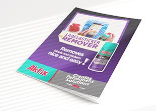 A104 Label & Sticker Remover Brochure