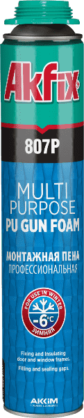807P Pu Gun Foam Multi Purpose Winter -6°C