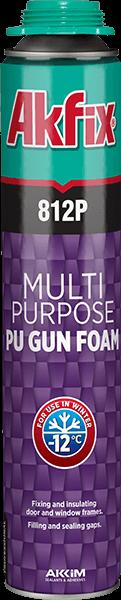 812P Pu Gun Foam Multi Purpose Winter -12°C