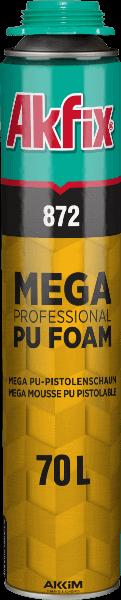 872 Mega PU Gun Foam 70L