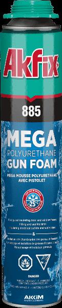 885 Mega Pu Gun Foam Winter -25°C 70L