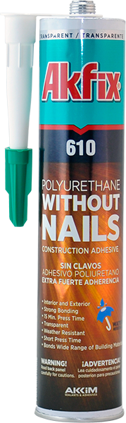 610 Without Nails Pu Construction Adhesive